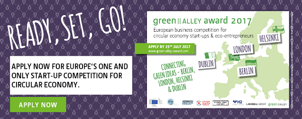 green alley award open for Irish applications