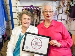 Catherine Murnane and Breda Ryan of the NCBI shop during National Volunteering week. Photo courtesy of Tipperary Volunteer Centre