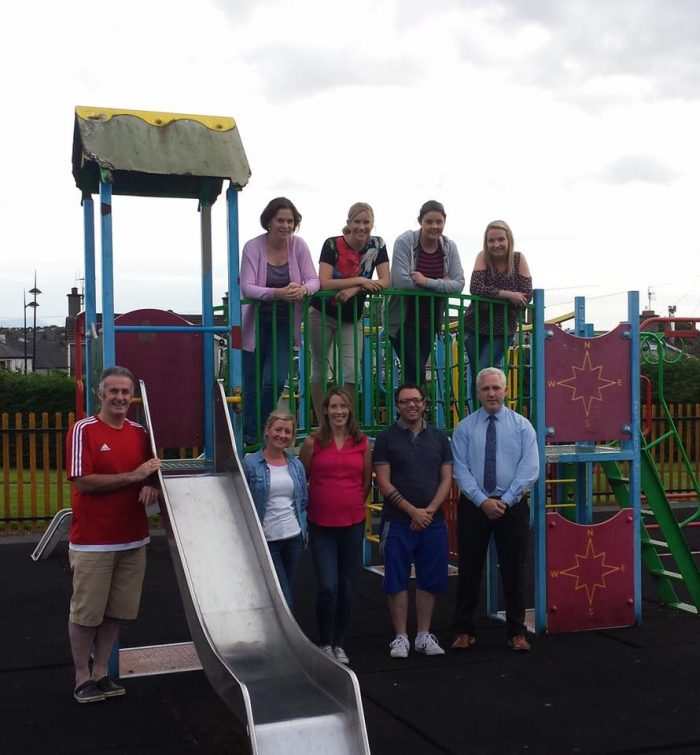 Some members of the Cashel Playground Development Committee