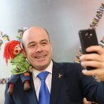 Bosco and Minister for Communications, Climate Action and the Environment, Denis Naughten TD