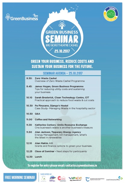 Green Business seminar 25th oct pg2
