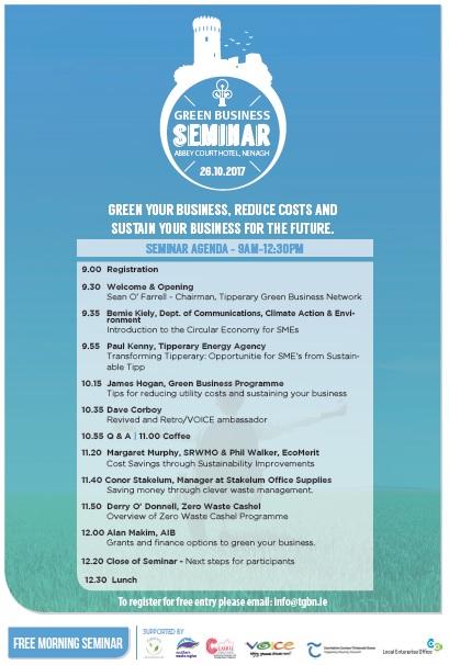 Nenagh Green Business Seminar