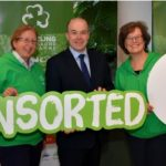 Pictured at the launch of the VOICE Recycling Ambassador Programme are Suzie Cahn, Project Manager, Minister Denis Naughten and Mindy O Brien, VOICE Co-ordinator
